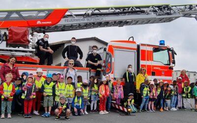 Startschuss für Brandschutzerziehung in Butzbacher Kindergärten ist gefallen