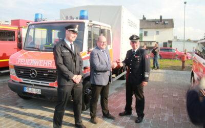 Feierliche Einweihung des Feuerwehrhauses Kirch-Göns
